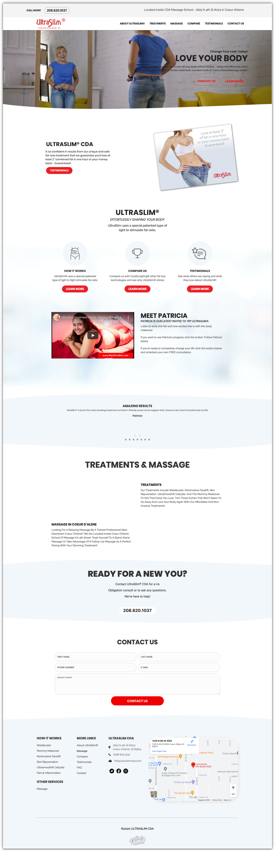 Ultraslim Homepage